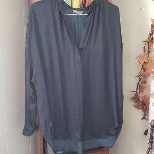 Top silk long sleeve